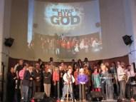 choir at glide