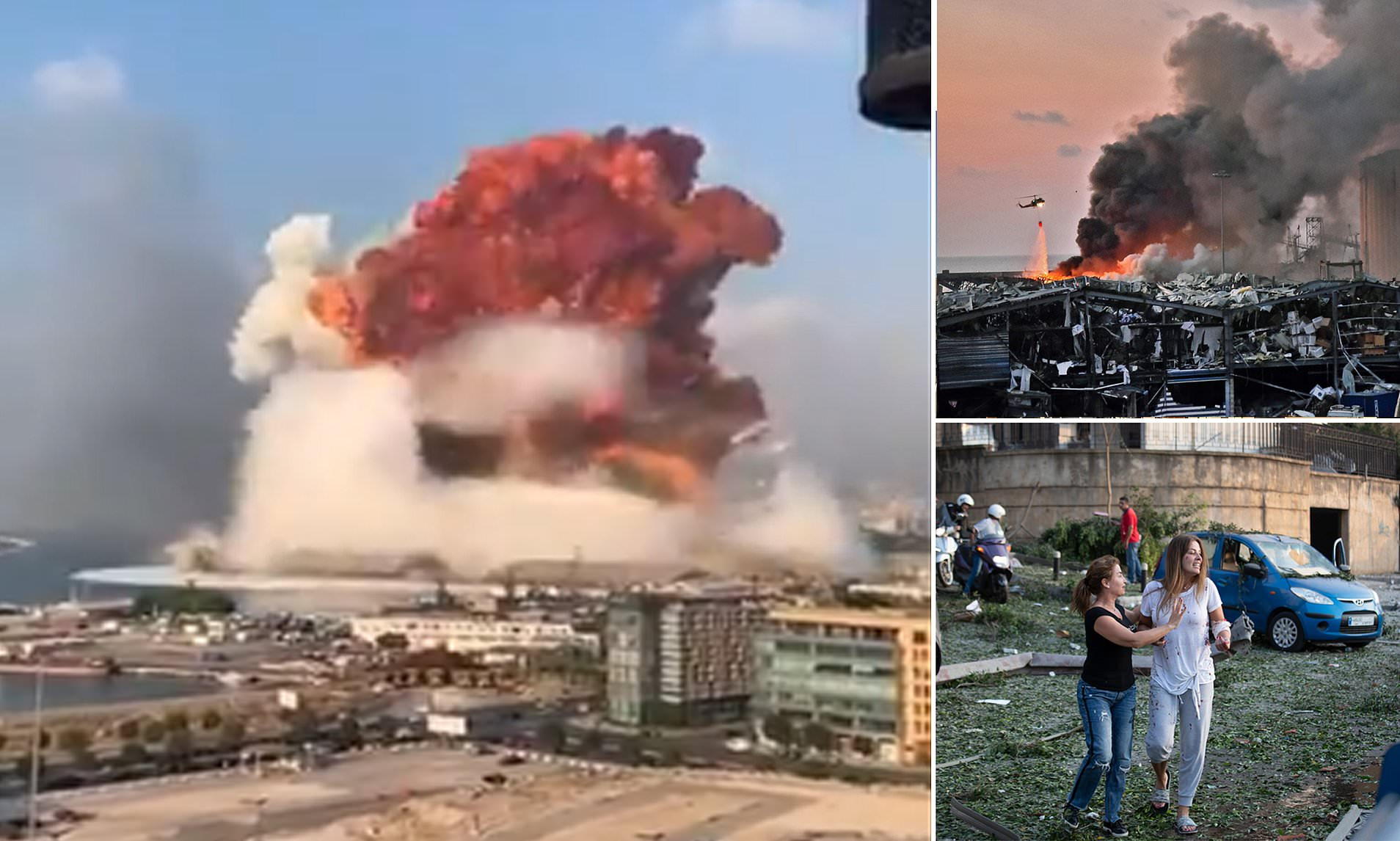 How could she be, her logic goes, when. Video shows moment of explosion in Beirut: The cause and