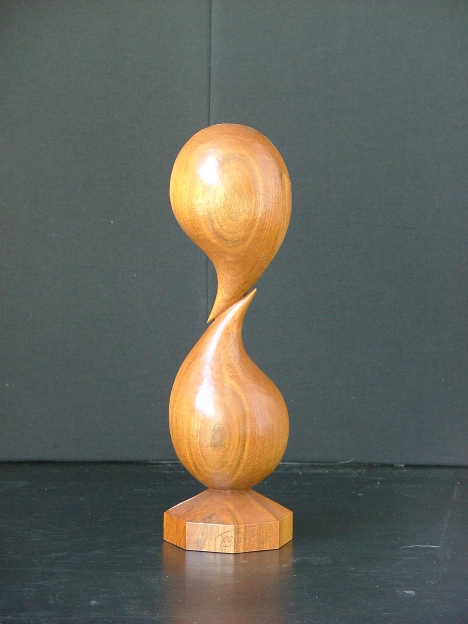 Sculpture contemporaine - Deux gouttes