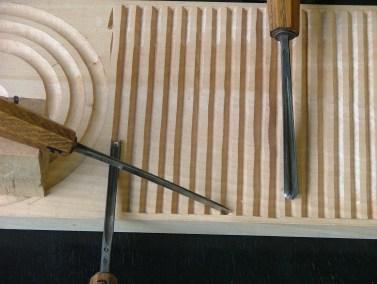 Stage de sculpture sur bois - Débutant 7/12