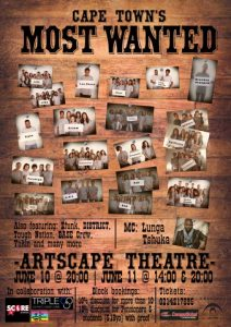 Cape Town's Most Wanted Dance Project at Artscape.