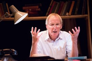 Alan Paton in A Voice I Cannot Silence. Photo credit: PIX BY VAL ADAMSON, BY COURTESY OF THE PLAYHOUSE THEATRE COMPANY