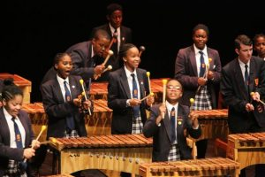 The Silver Medal went to the Dainfern College High School Marimba Band.