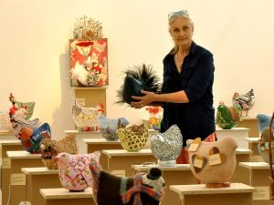 The Chicken Challenge is the brainchild of Nelspruit-based artist Reinette Fourie.