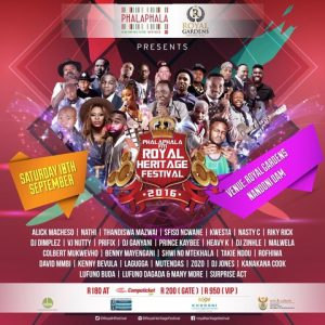 5th Annual Phalaphala FM Royal Gardens Festival