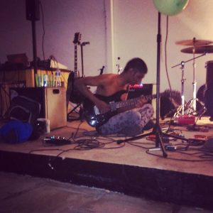 Raytheon Orion playing at the TBMO Art Party '14. Picture: Thato Tsotetsi/Artsvark