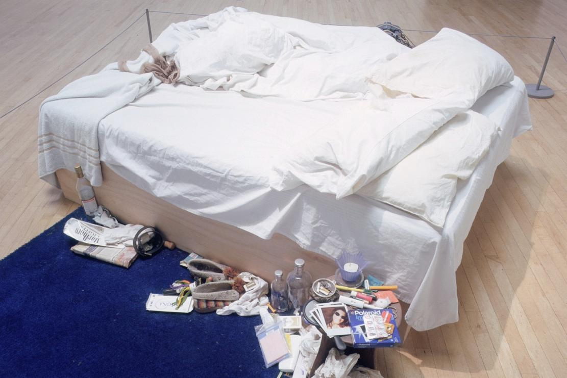 tracey emin s my bed ignored society