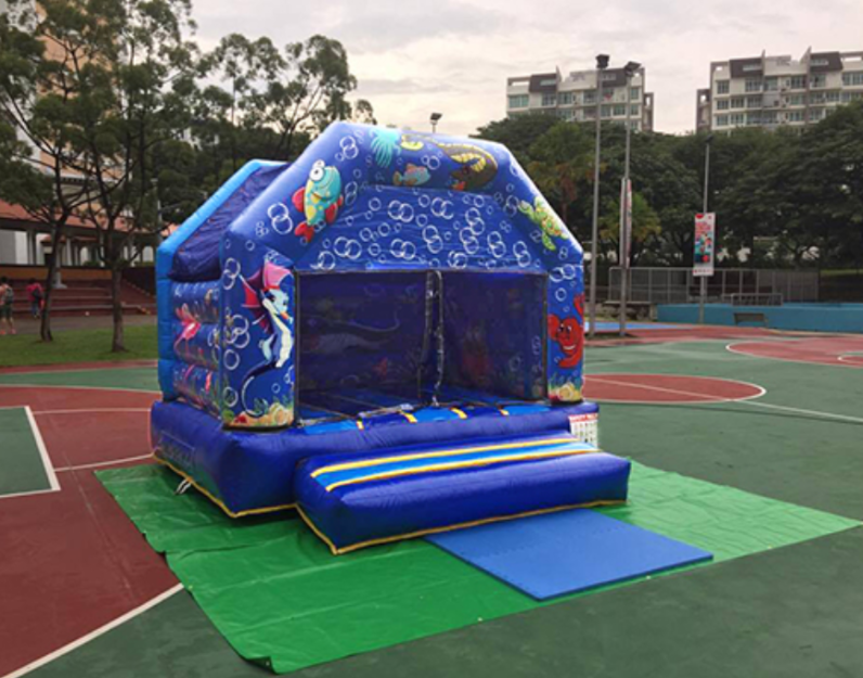 , Bouncy Castle (Small), Singapore Balloon Decoration Services - Balloon Workshop and Balloon Sculpting
