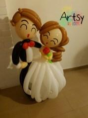 Wedding balloon decoration singapore