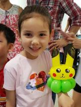 Cartoon Bracelet Balloon Sculpting pikachu