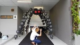 Spider Balloon arch for halloween
