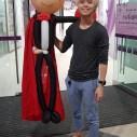 Vampire balloon sculpture for halloween balloon decorations (2)