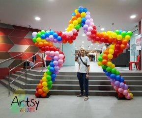 , Balloon Arch, Singapore Balloon Decoration Services - Balloon Workshop and Balloon Sculpting