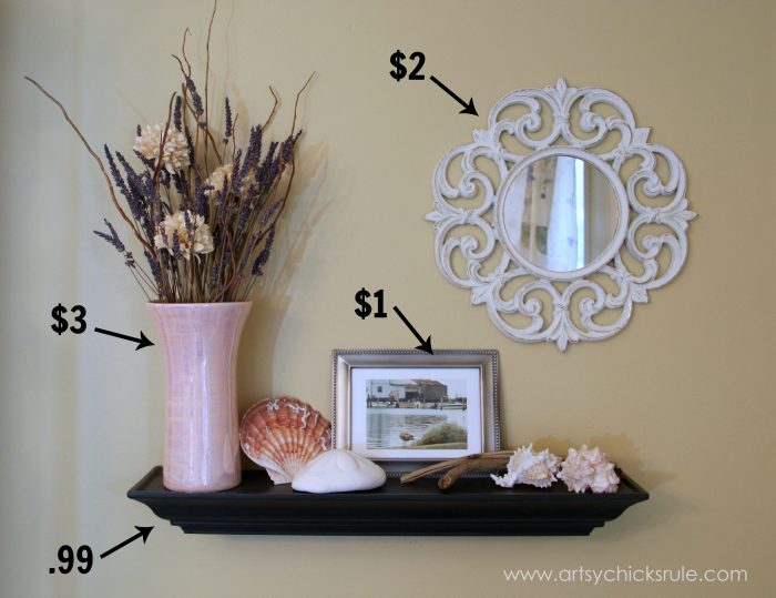How To Decorate On A Budget {Dining Room}