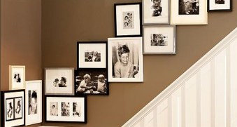 7 Lovely Ways to Display Your Family Photos