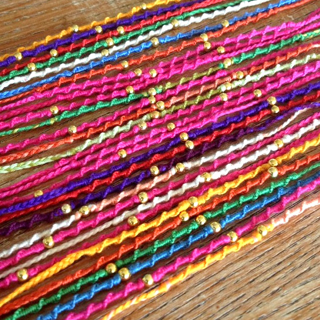 1-Handmade beaded rakhis for raksha bandhan - We have 15 best ideas to make Rakhi at home for Rakshabandhan - Perfect rakhi ideas for kids to make, rakhi competition, best of waste, simple and handmade with detailed step by step images- ArtsyCraftsyMom