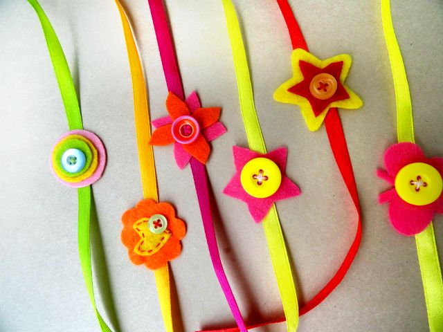 15 best ideas to make rakhi at home for rakshabandhan for Best out of waste ideas for class 12