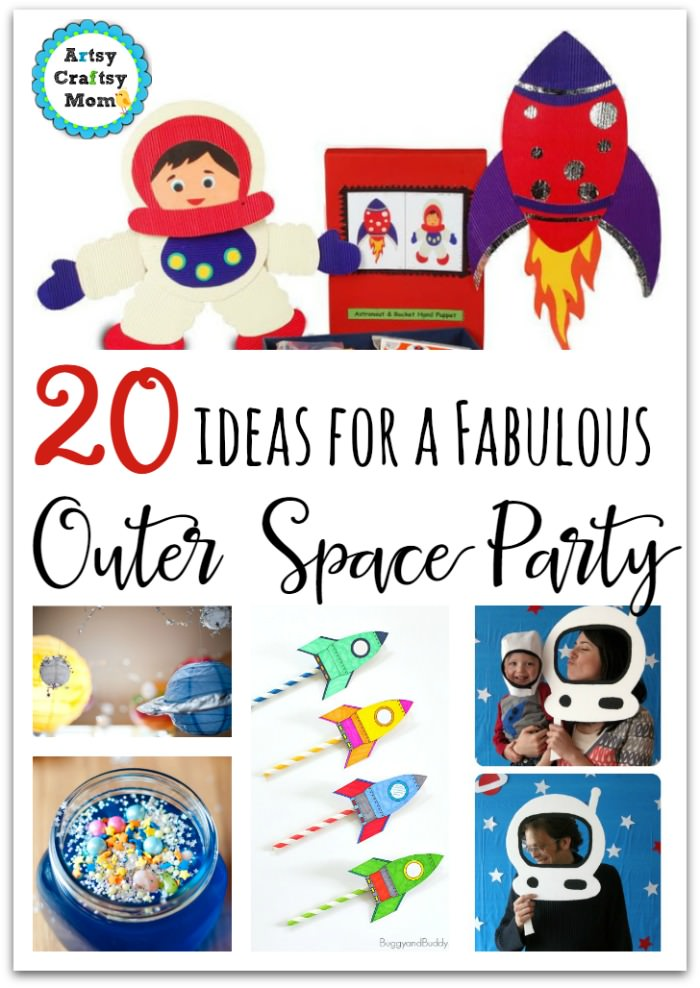 image about Free Printable Birthday Party Games Adults identified as 20 Amazing Outer Place Birthday Occasion Options For Small children