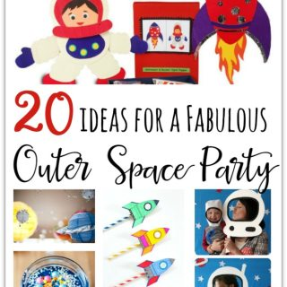 20 Fabulous Outer Space Birthday Party Ideas For Kids - From space party games, space party decorations, Printables, Gift Ideas, and Space themed Invites