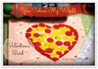 Valentine's Day – Dot Marker Heart Card