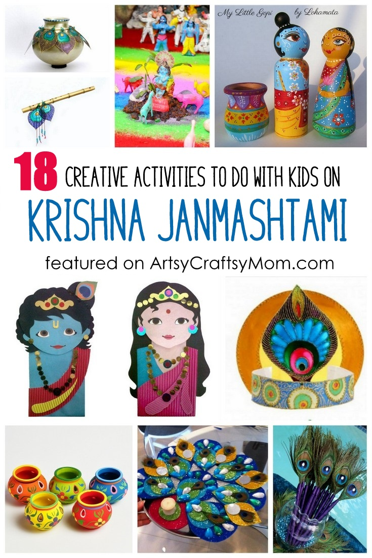 18 Creative Activities To Do On Krishna Janmashtami With Kids