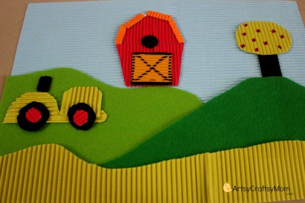 Life on the Farm - Thematic Collage for kids 011
