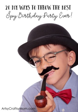 20 DIY Ways To Throw The Best Spy Agent Birthday Party Ever