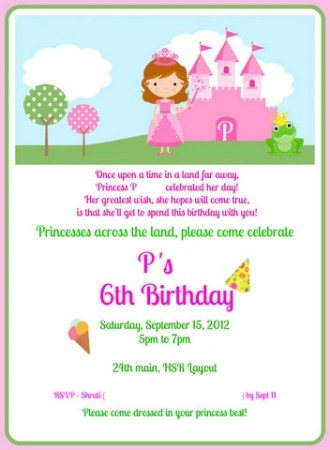 The Pink Princess Party