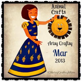 Artsy-Craftsy-March-2013 Challenge