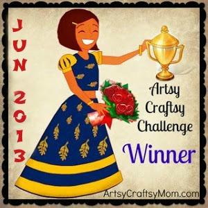Artsy Craftsy May -June Winners