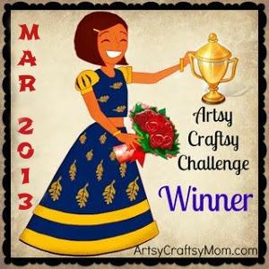 Artsy-Craftsy-March-2013 Winners
