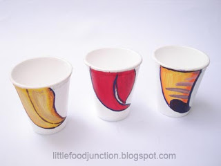 Thermocol Beaky Cup