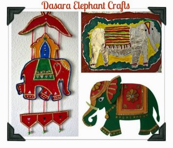 Day 5 – Dasara Elephant Crafts