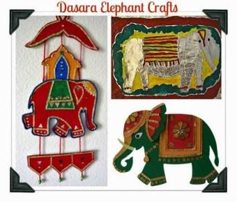 Day 5 – Dasara Elephant Crafts