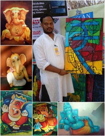 Chitra sante artwork bangalore