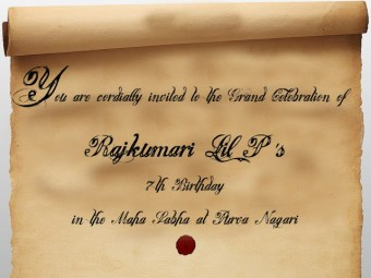 Indian Mythological Party – 7th Birthday Celebrations