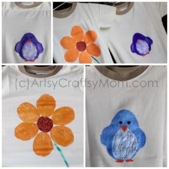 Potato Print T-shirts