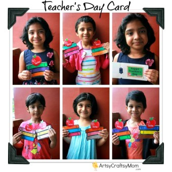 Teacher Appreciation Card – Stack of Books +Free Printable