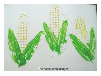 Lego printing - Corn on the Cob