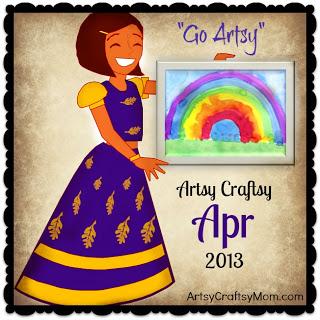 Artsy Craftsy Challenge April 2013