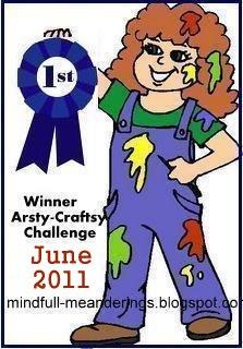Artsy-Craftsy-June Winner