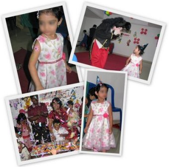 B'day parties n lil P