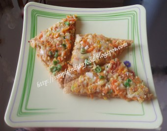 Yummy-Tummy-Wednesday – Cheese corn veggies on toast