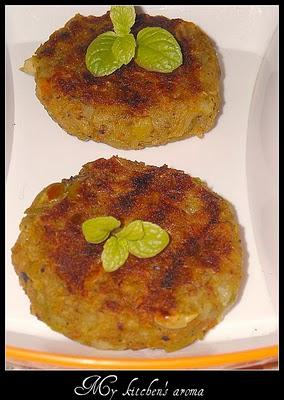 Yummy-Tummy-Wednesday-Grilled Vegetable Tikkis
