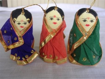 Day 8 – DIY Sock Doll in a saree