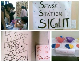 Sensory play - Sight counter