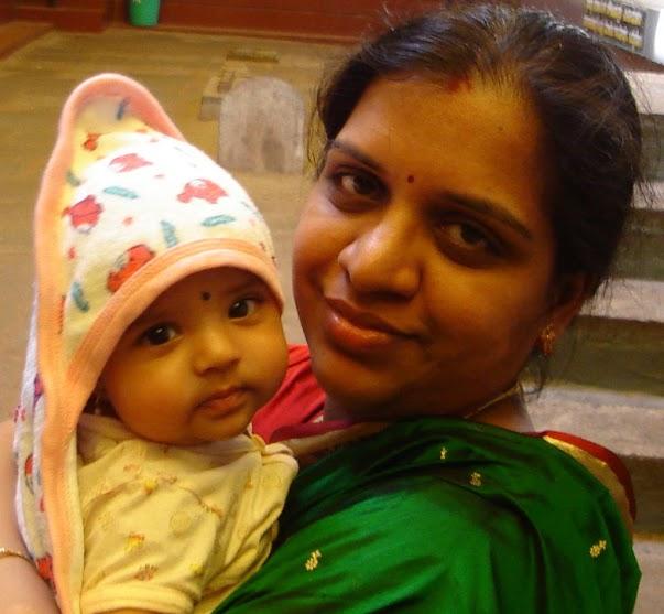 artsycraftsymom with Lil p