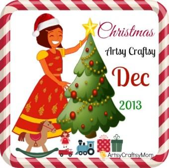 Artsy Craftsy Dec 2013 – Christmas crafts