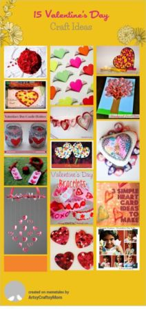 Valentine Craft ideas - heart craft