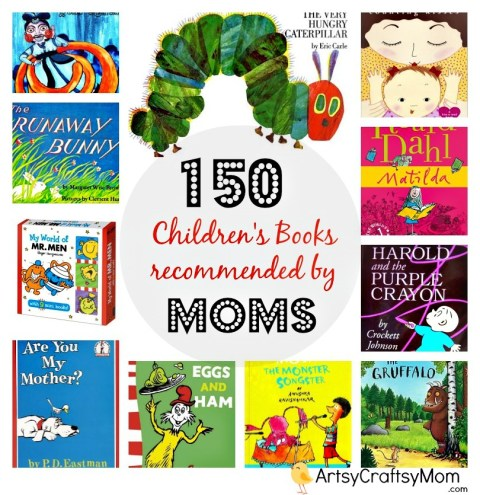 150 Children's Books recommended by moms
